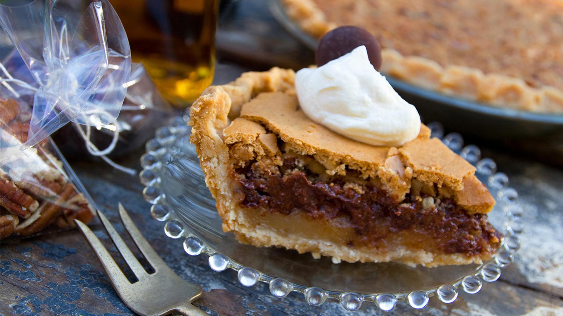 Kentucky Derby Chocolate Pecan Pie – Lost Recipes Found