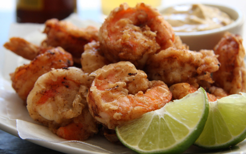 Buttermilk Fried Shrimp With Chipotle Lime Lost Recipes Found