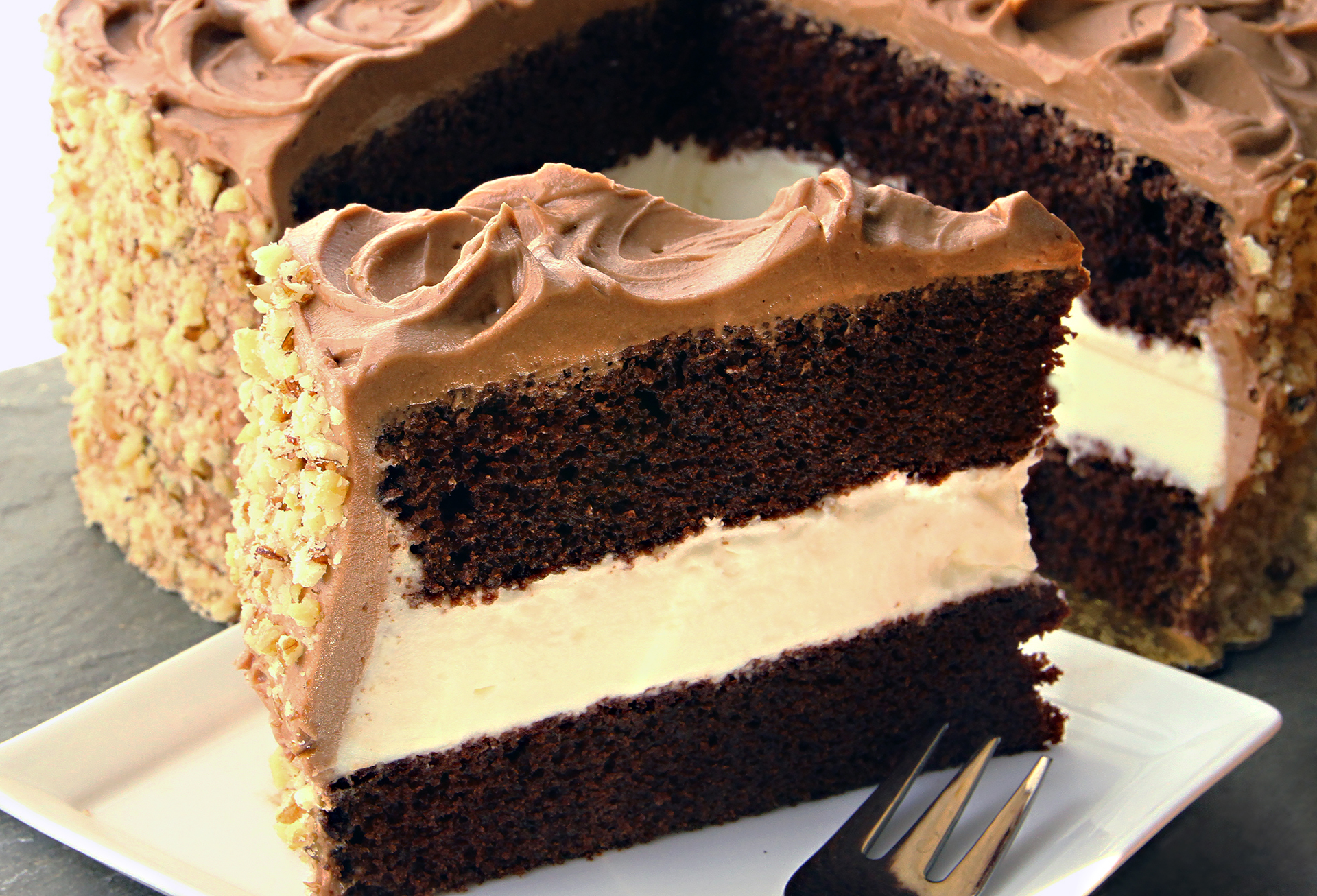 Dressel's Chocolate Fudge Whipped Cream Cake – Lost Recipes Found