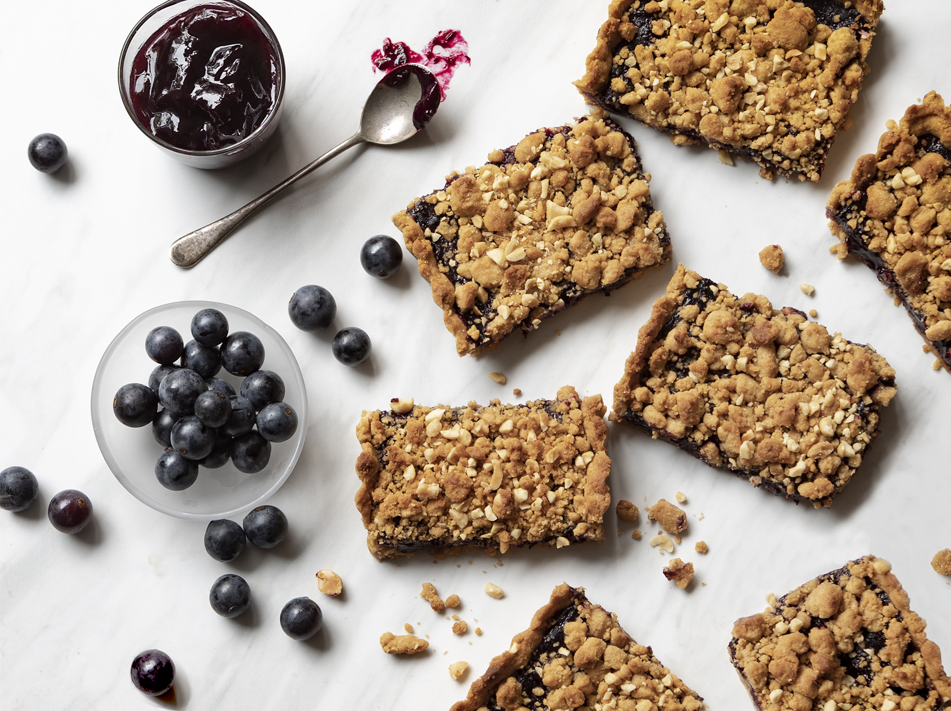 PBJ Bars (Fresh Concord Grape with Peanutty Crust)