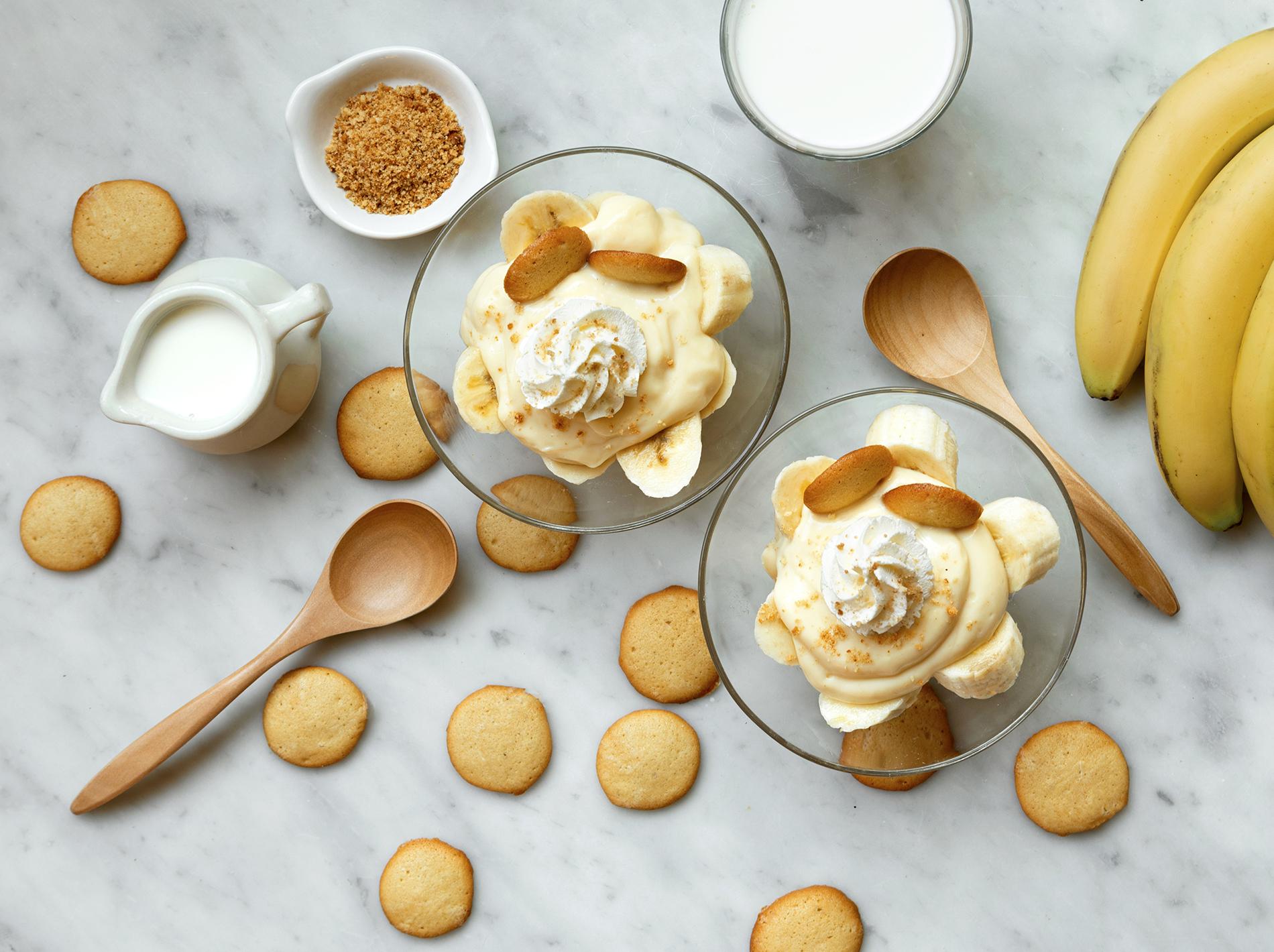 Banana Pudding with Homemade Vanilla Wafers
